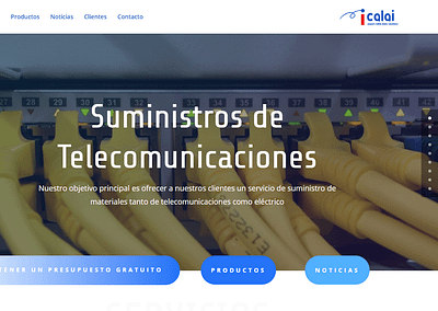 Diseño Web – Calai Data Solutions